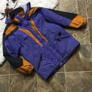 Vintage L.L. Bean Double Insulated Hooded Coat